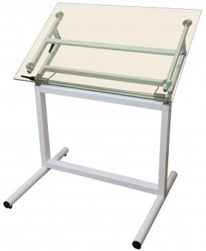 glas drawing table